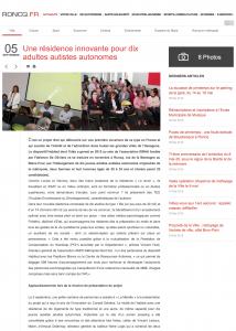 Roncq : Une résidence innovante pour dix adultes autistes autonomes